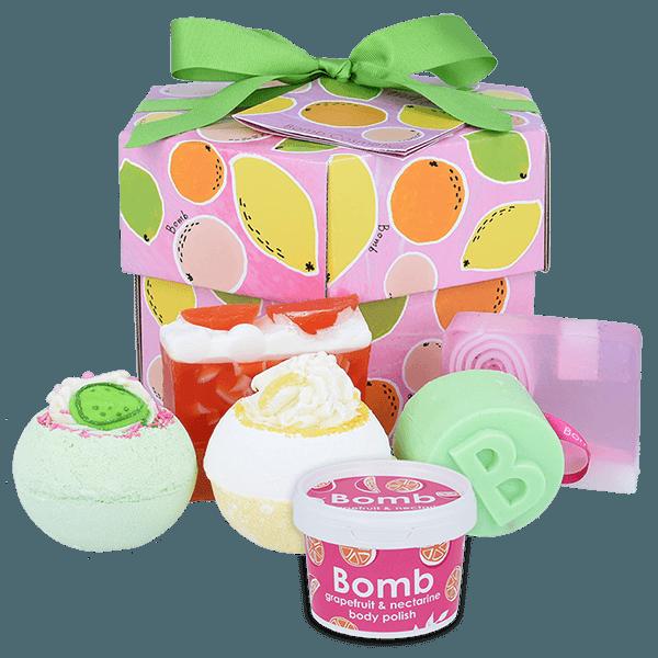 Fruit Basket Hexagonal Gift Box
