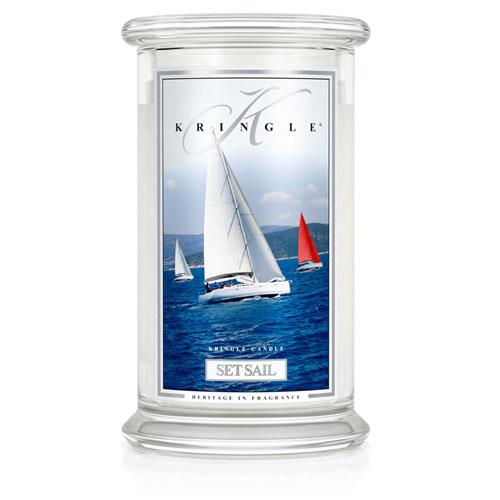 Kringle Candle Set Sail Large 2 Wick Jar Candle