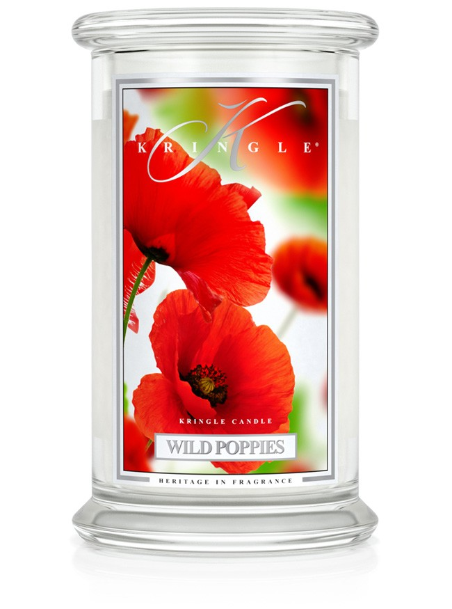 Kringle Candles - Wild Poppies - Large 2 Wick Jar