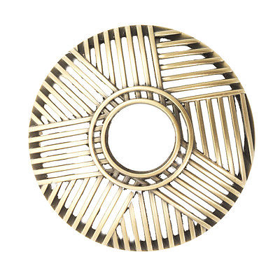 Yankee Candle Crosshatch Brass Illuma-lid