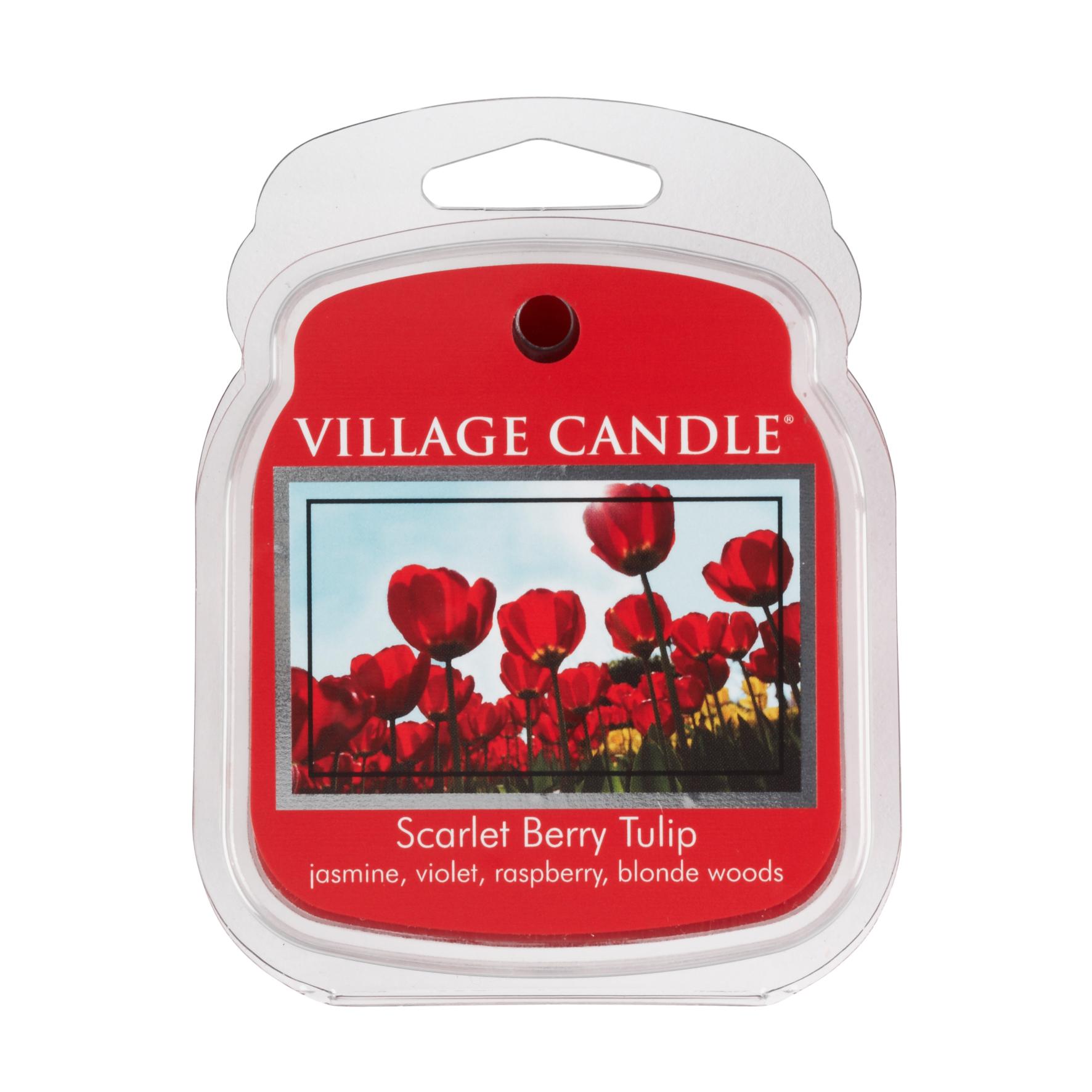 Scarlet Berry Tulip Premium Wax Melt Pack