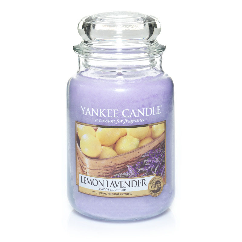 Lemon Lavender Large Jar Candle