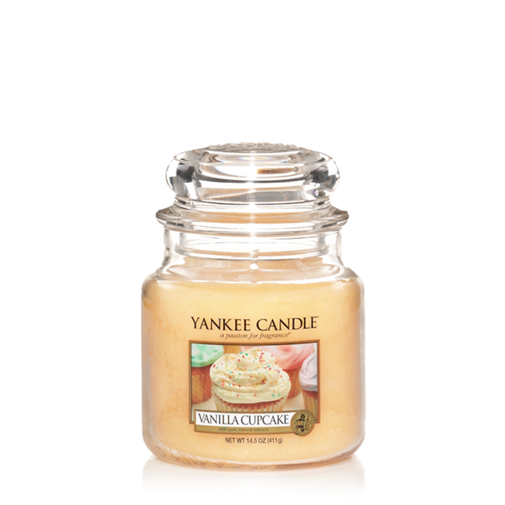 Vanilla Cupcake Medium Jar Candle