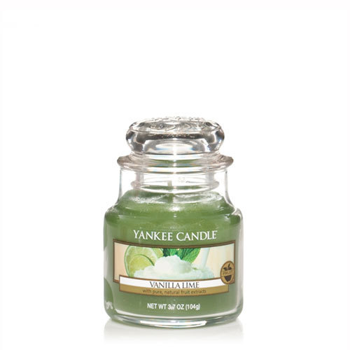 Vanilla Lime Small Jar Candle