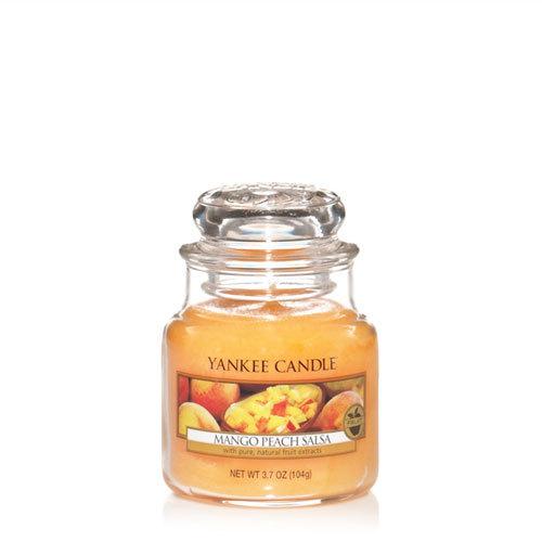 Mango Peach Salsa Small Jar Candle