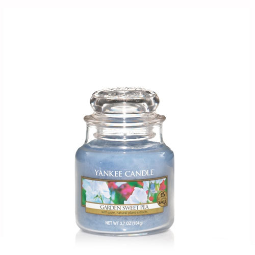 Garden Sweet Pea Small Jar Candle