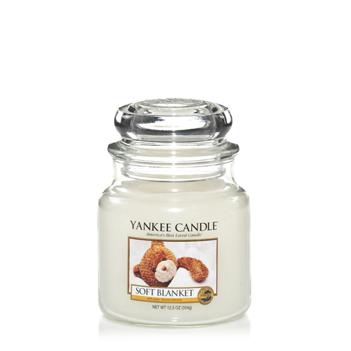 Soft Blanket Medium Jar Candle