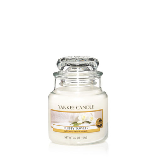 Fluffy Towels™ Small Jar Candle