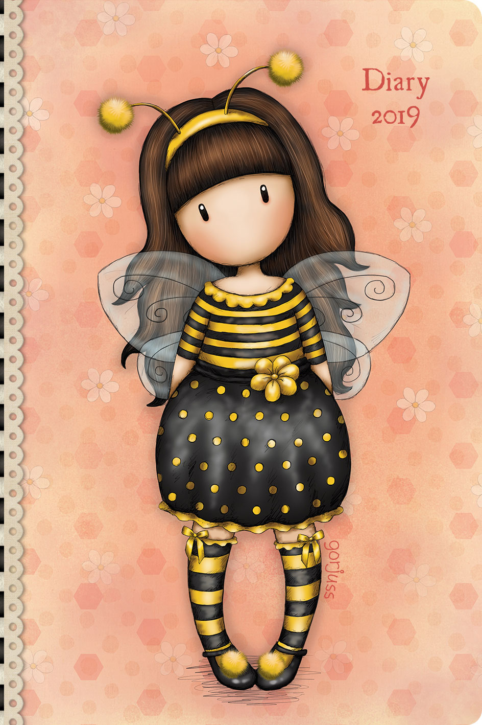 Santoro 2019 Pocket Diary - Bee-Loved
