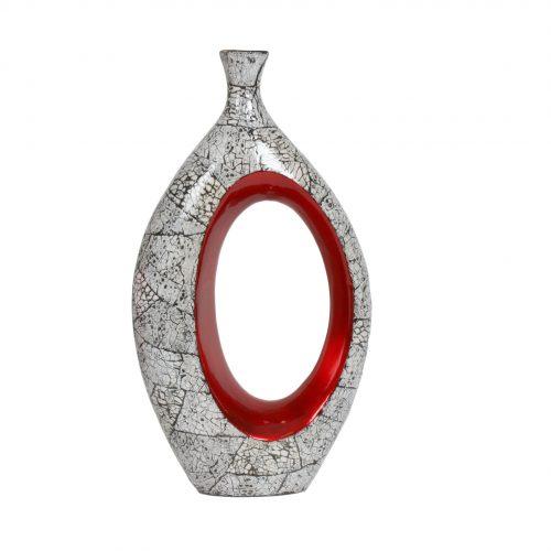 Eggshell Hole Vase 41cm