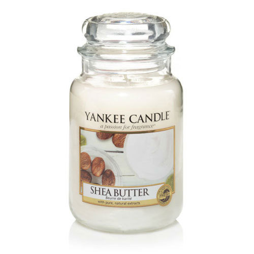 Shea Butter Large Jar Candle