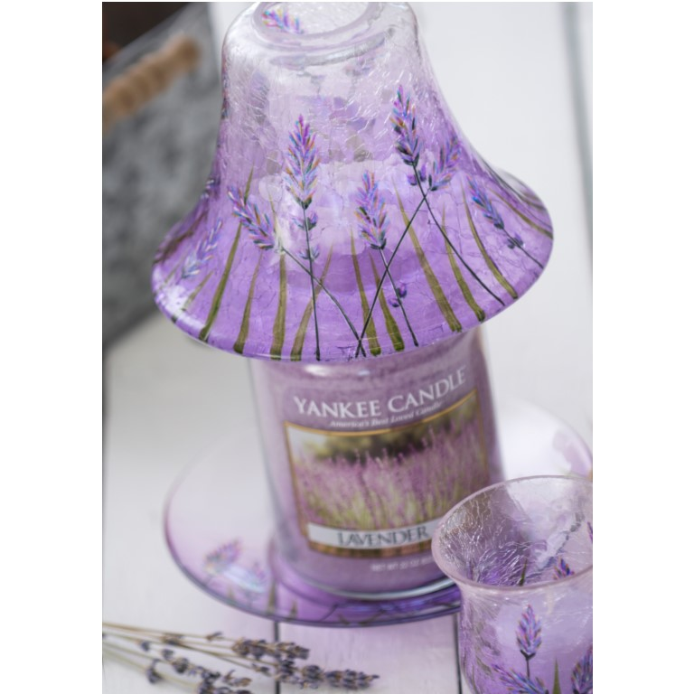 Lavender Crackle - Large Shade and Tray