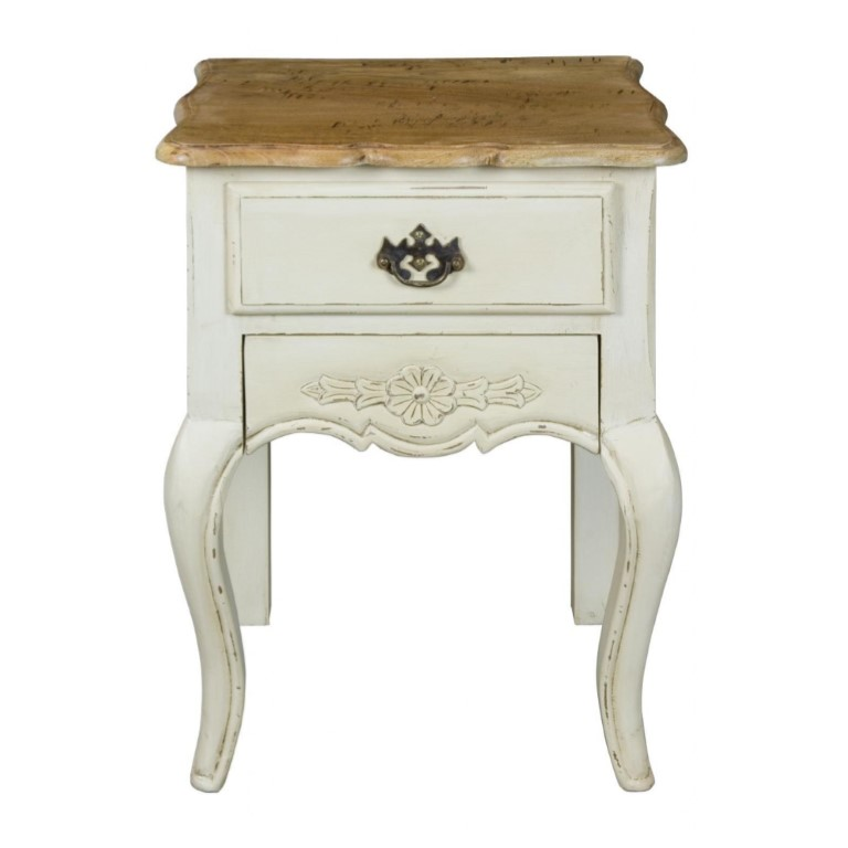 Amberly 2 Drawer lamp Table