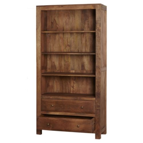 Manhattan Mango Light Large Bookcase