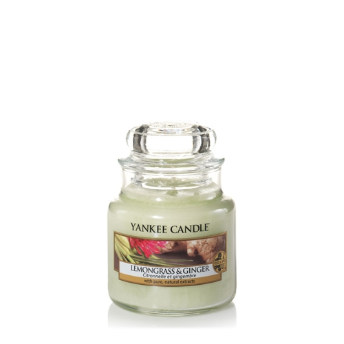 Lemongrass & Ginger Small Jar Candle