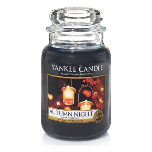 Autumn Night Large Jar Candle