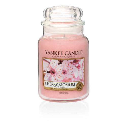 Cherry Blossom Large Jar Candles