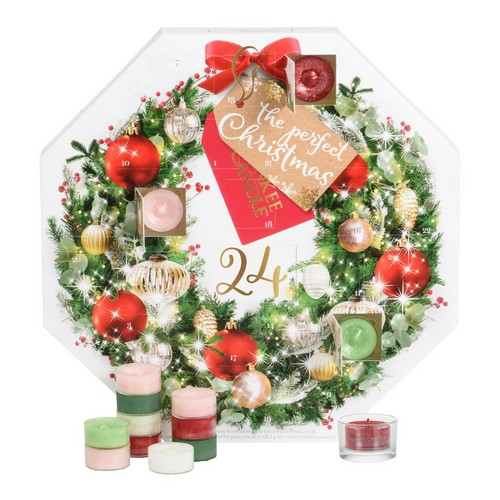 Yankee Candle Advent Calendar Tealight Wreath 2017