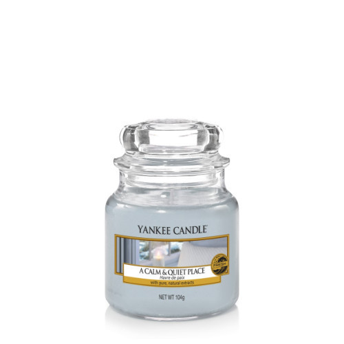 A Calm & Quiet Place Small Jar Candle