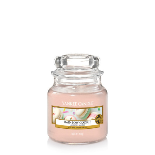 Rainbow Cookie Small Jar Candle