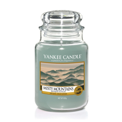 Misty Mountains Large Jar Candle
