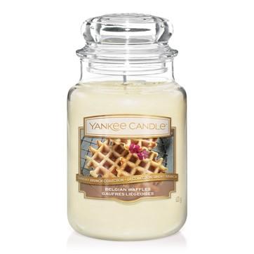 Belgian Waffles Large Jar Candle