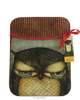 Grumpy Owl iPad Sleeve