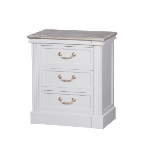 The Liberty Collection Three Drawer Bedside