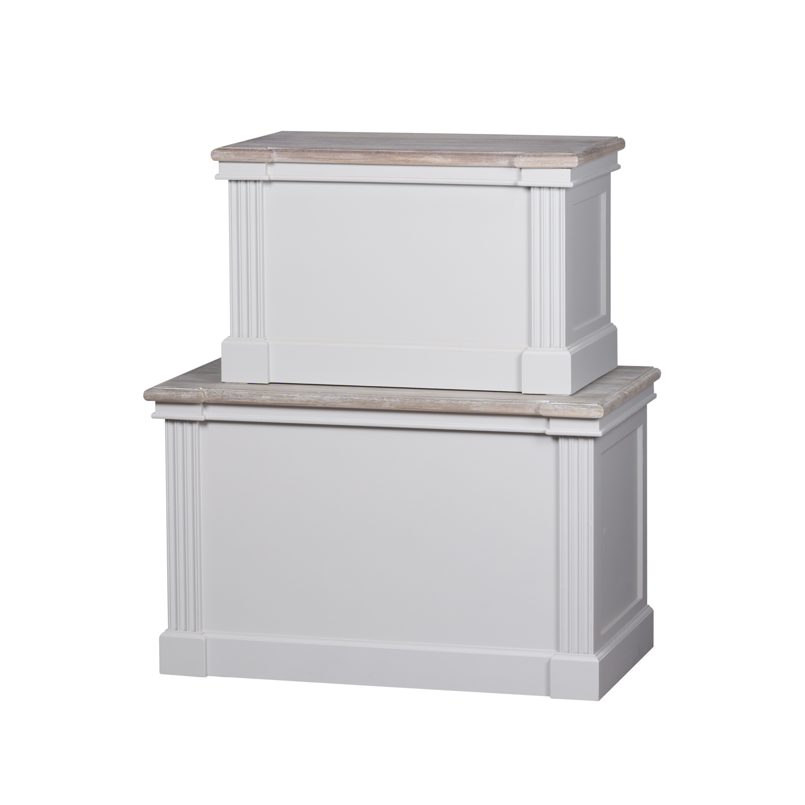 The Liberty Collection Set Of Two Blanket Boxes
