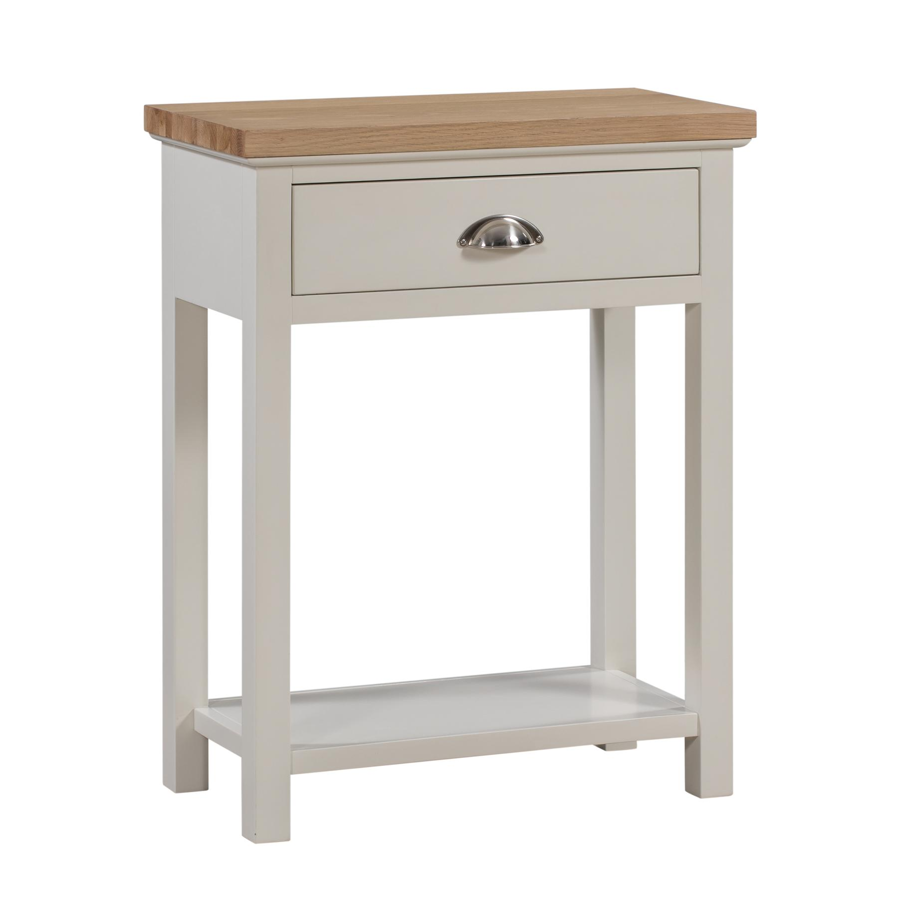 Ripley Oak Collection One Drawer Console Table