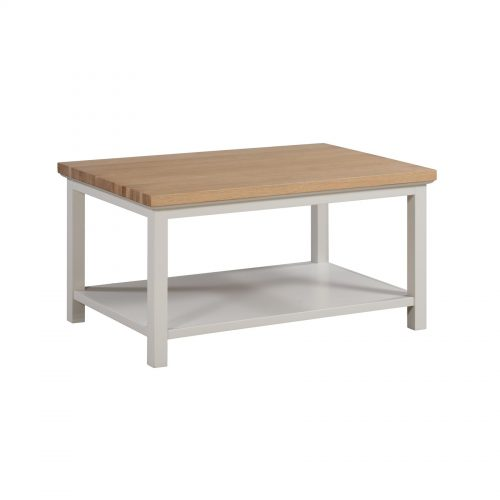 Ripley Oak Collection Coffee Table With Shelf