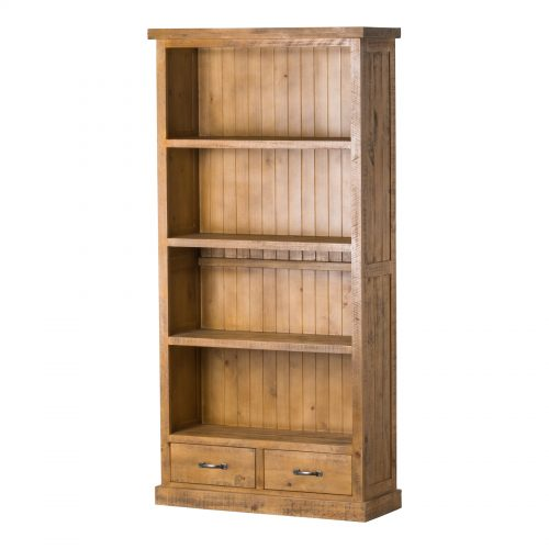 The Deanery Collection Two Drawer Bookcase