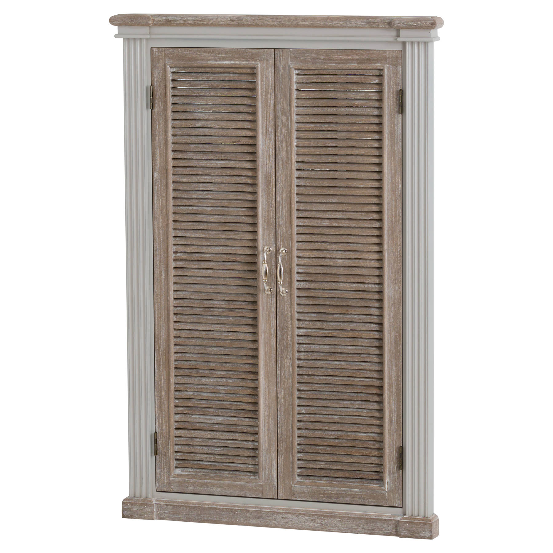 The Liberty Collection Louvered Door Mirror