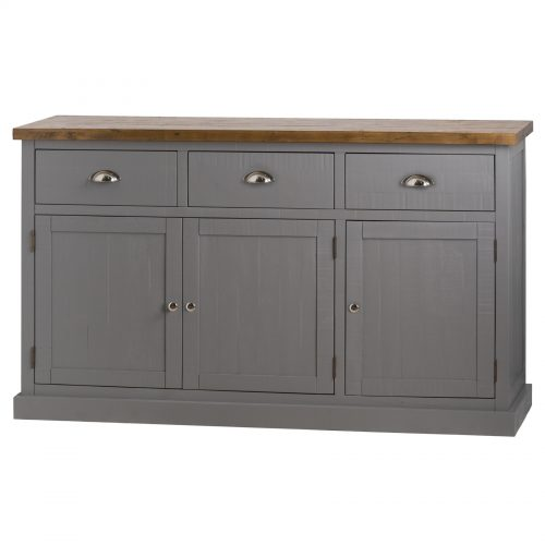 Byland Collection Three Drawer Three Door Sideboard
