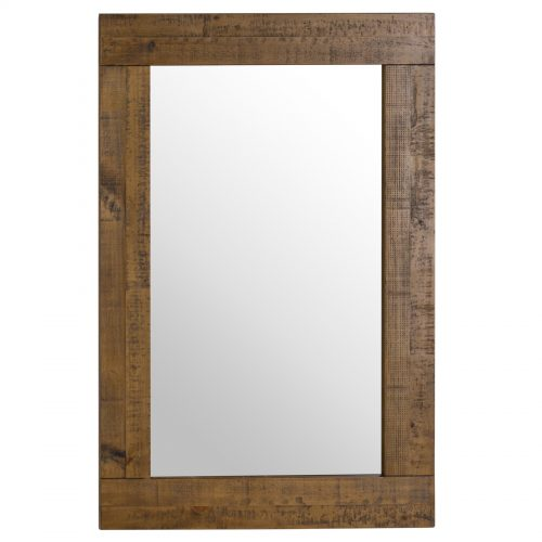 The Deanery Collection Plank Mirror