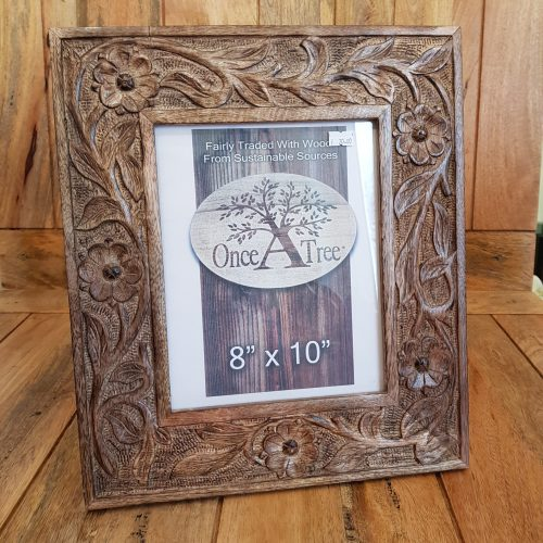 Once a Tree Flower Large Photo Frame 8x10 Inch