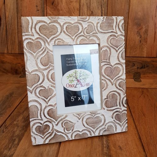 Once a Tree Heart Large Photo Frame 5x7 Inch