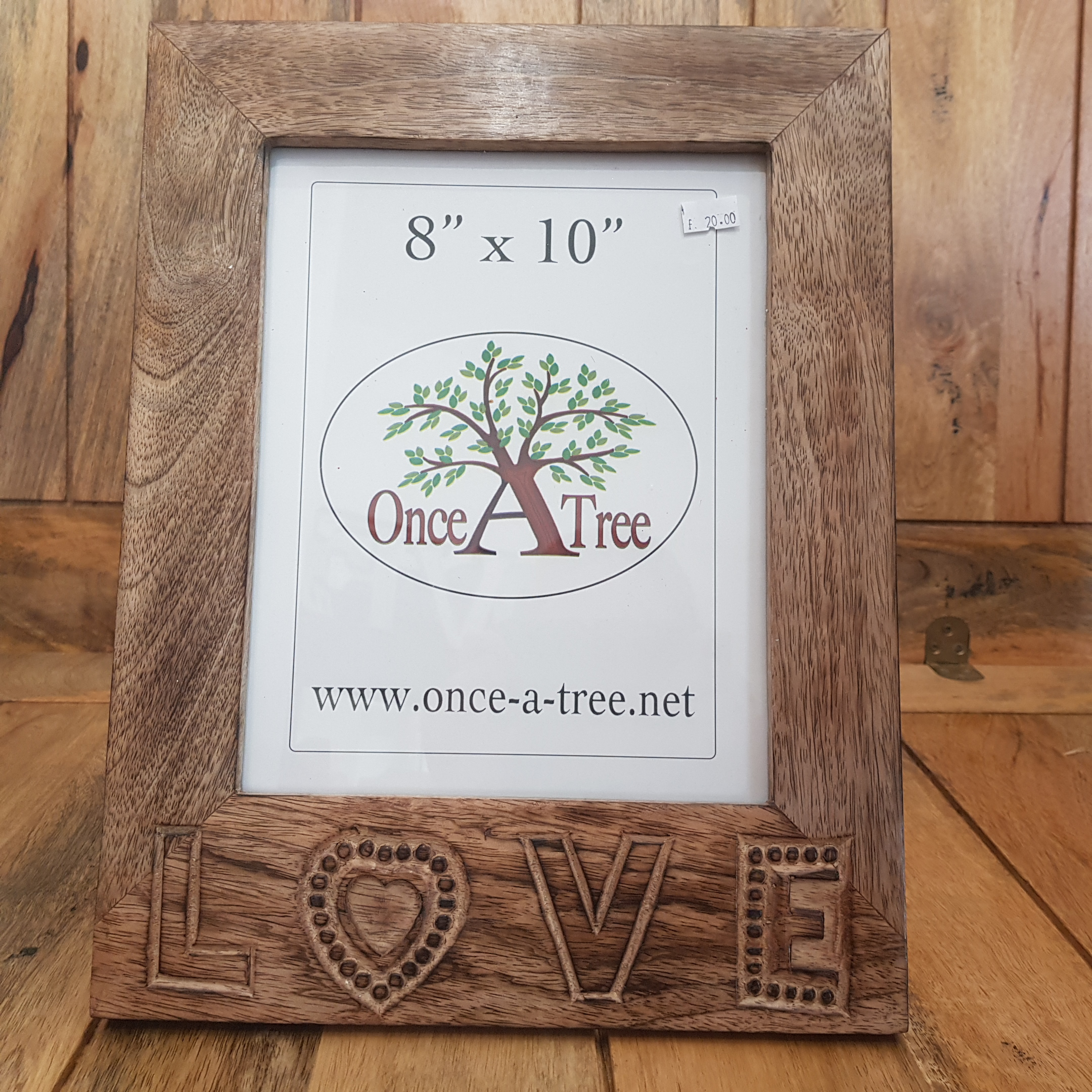 Once a Tree Love Large Photo Frame 8x10 Inch