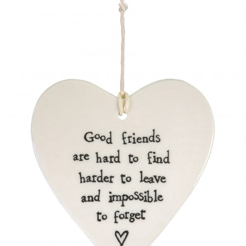 2049DH web Porcelain round heart good friends
