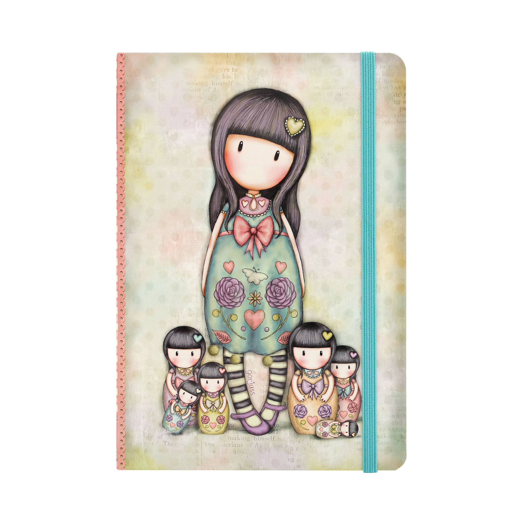 Gorjuss Hardcover Notebook - Seven Sisters