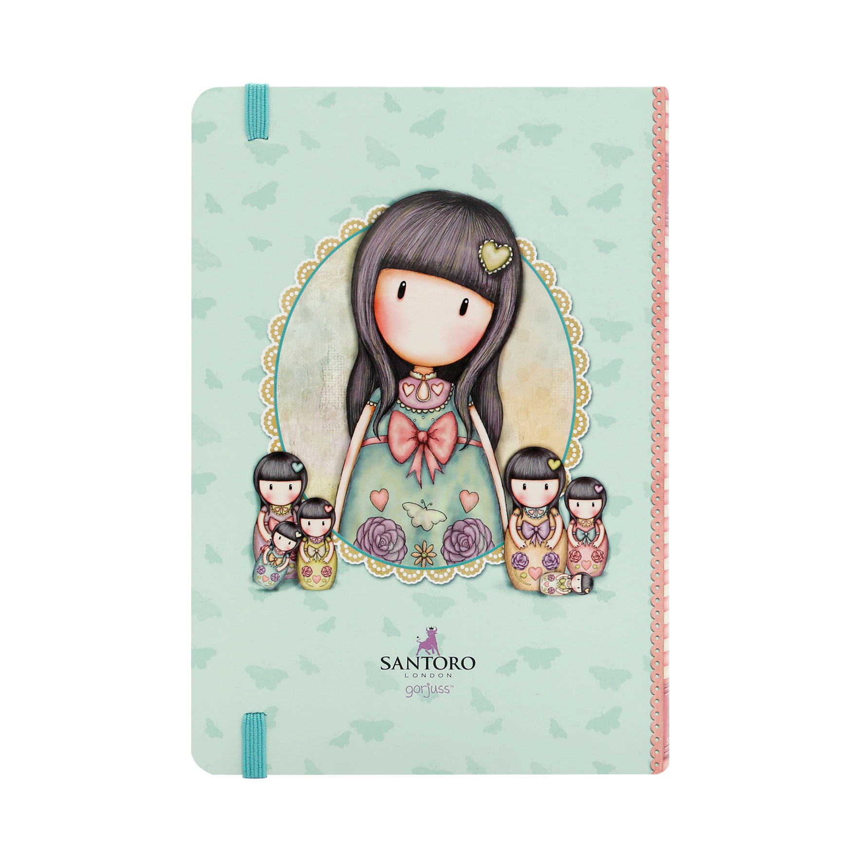 Gorjuss Hardcover Notebook - Seven Sisters (Back)