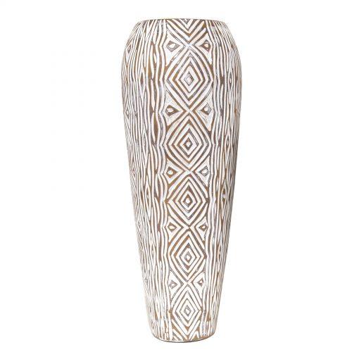 Geometric Design Vase 47.5cm