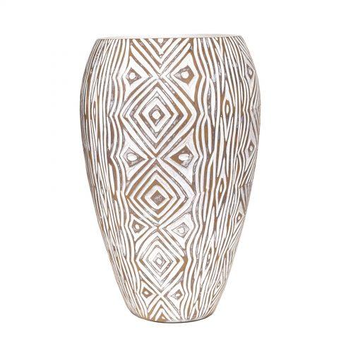 Geometric Design Vase 32.5cm