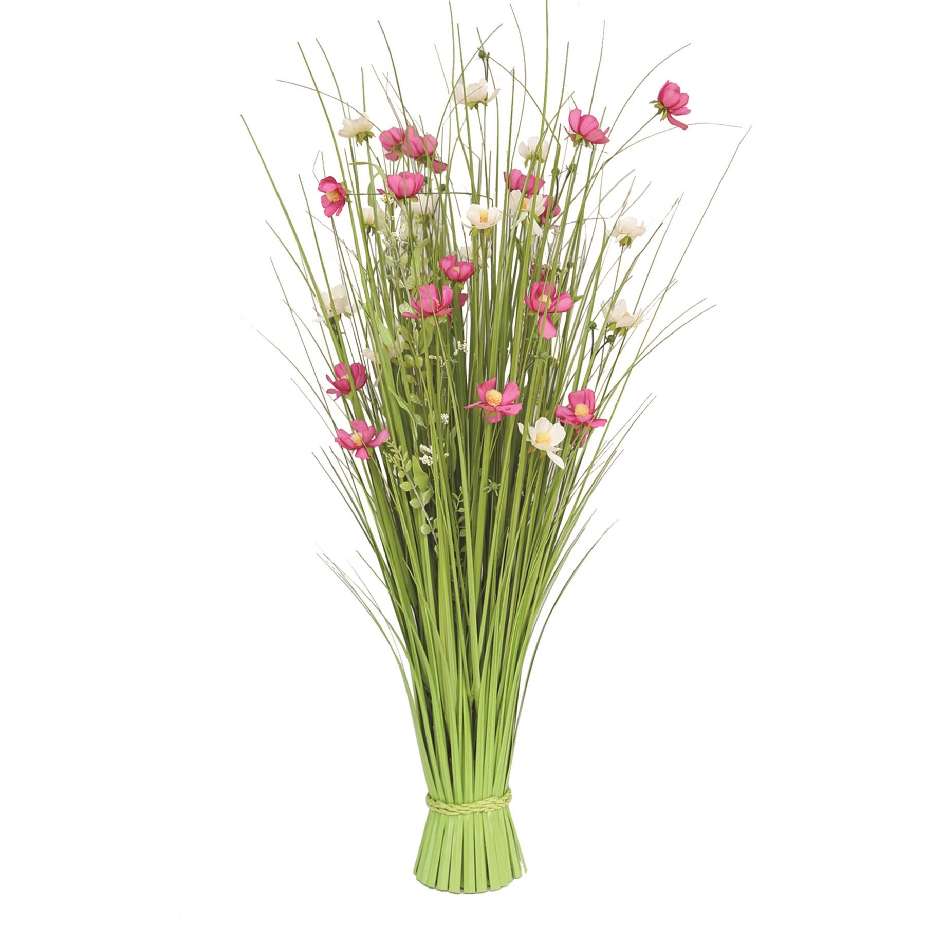 Grass Bundle Mixed Flowers 100cm