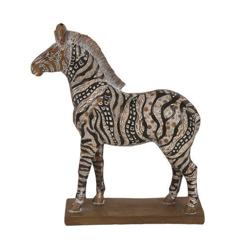 Decorative Resin Zebra 32cm