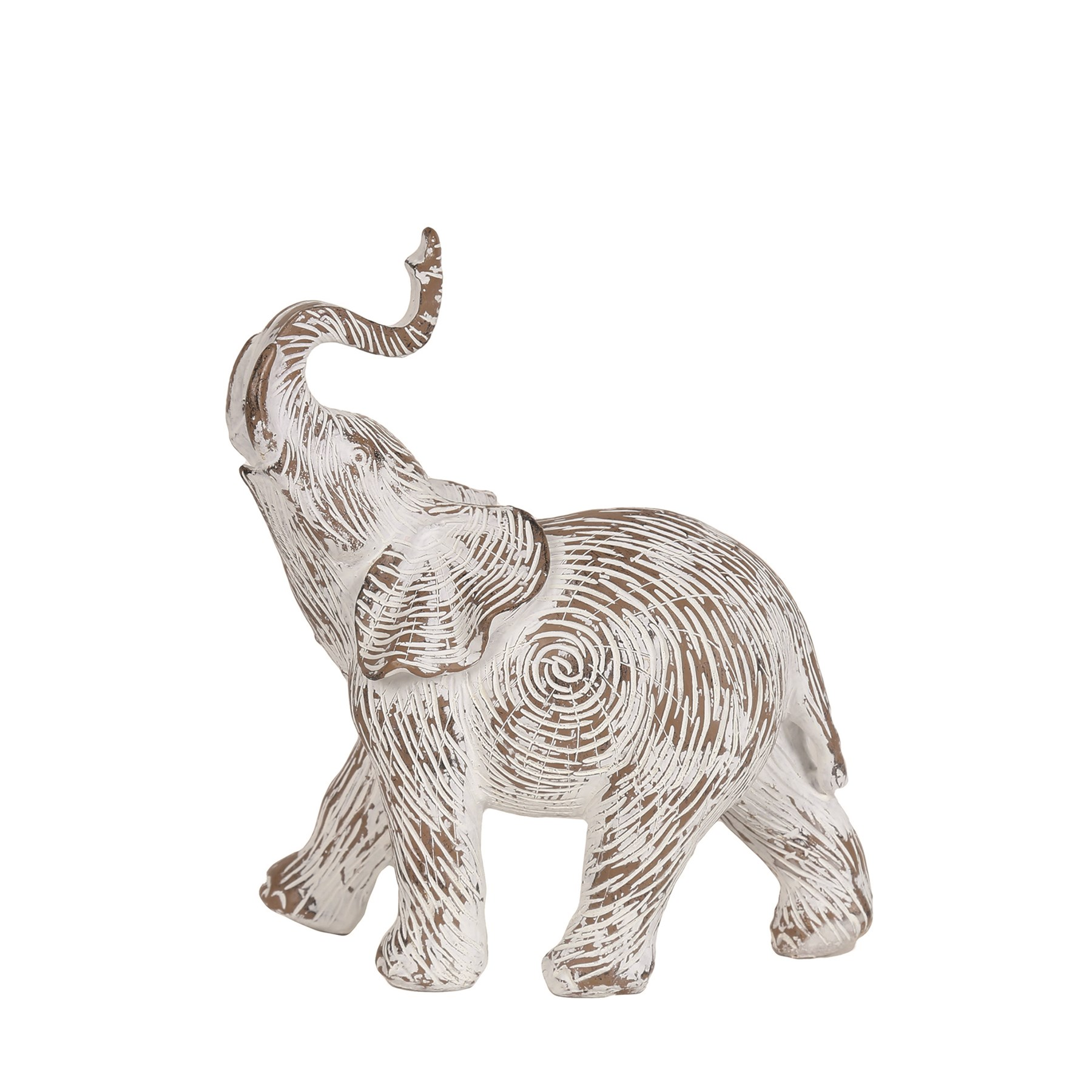 Decorative Etched Elephant 18.5cm