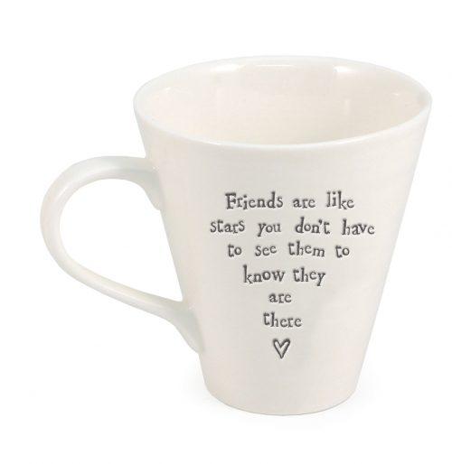 Friends like stars Ripple ceramic mug