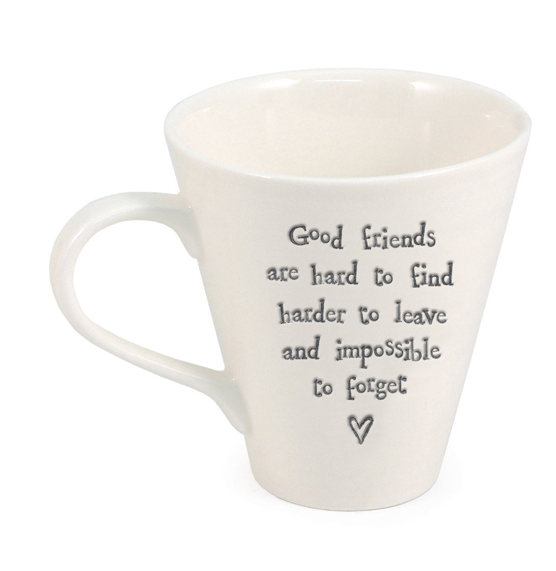 Good friends Ripple ceramic mug