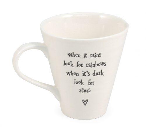 Ripple ceramic mug - When it rains