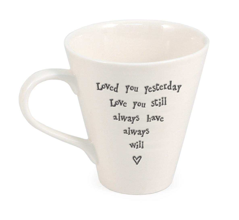 Ripple ceramic mug - Yesterday